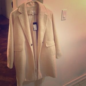 Beautiful teddy coat (fits small adult)